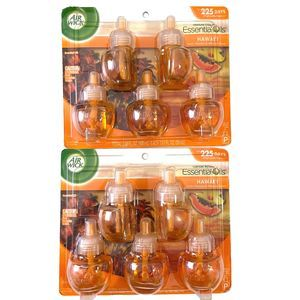 Air Wick Hawaii Essential Scented Oil 10 Refills